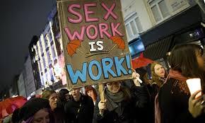 Amnesty tar ställning för avkriminaliserad sexhandel