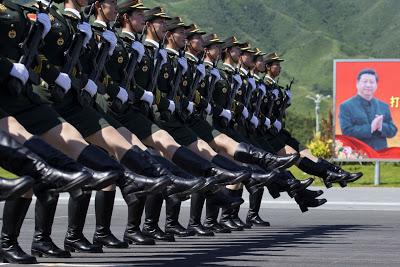 Kina minns segern