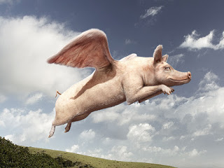 Om grisar kunde flyga