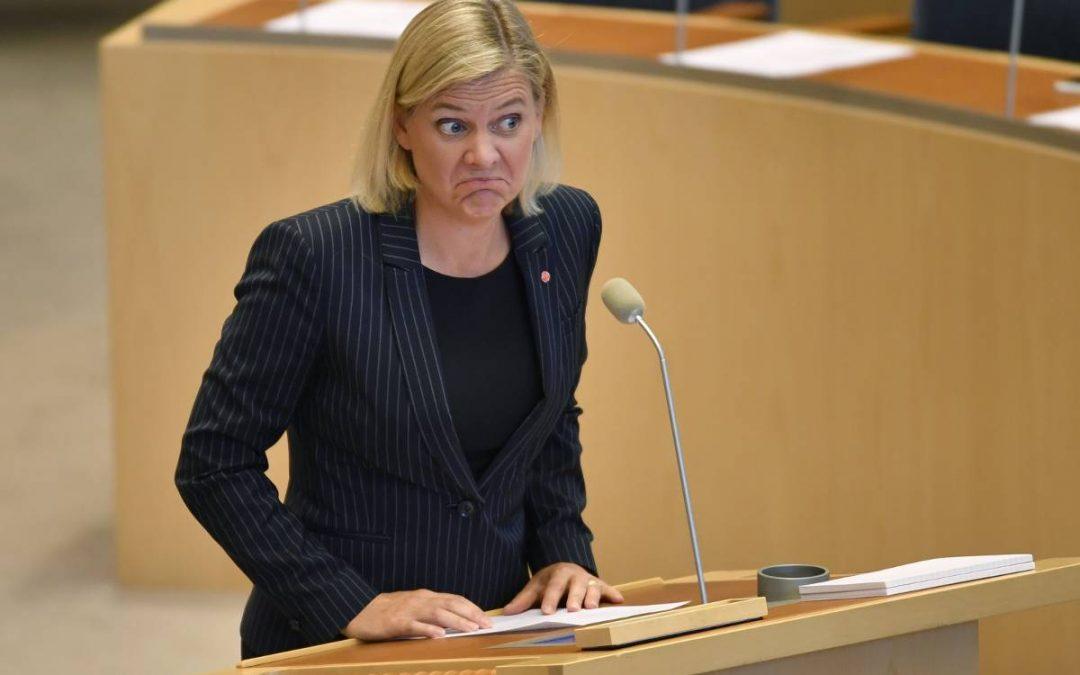 Finansminister med gloria på sned