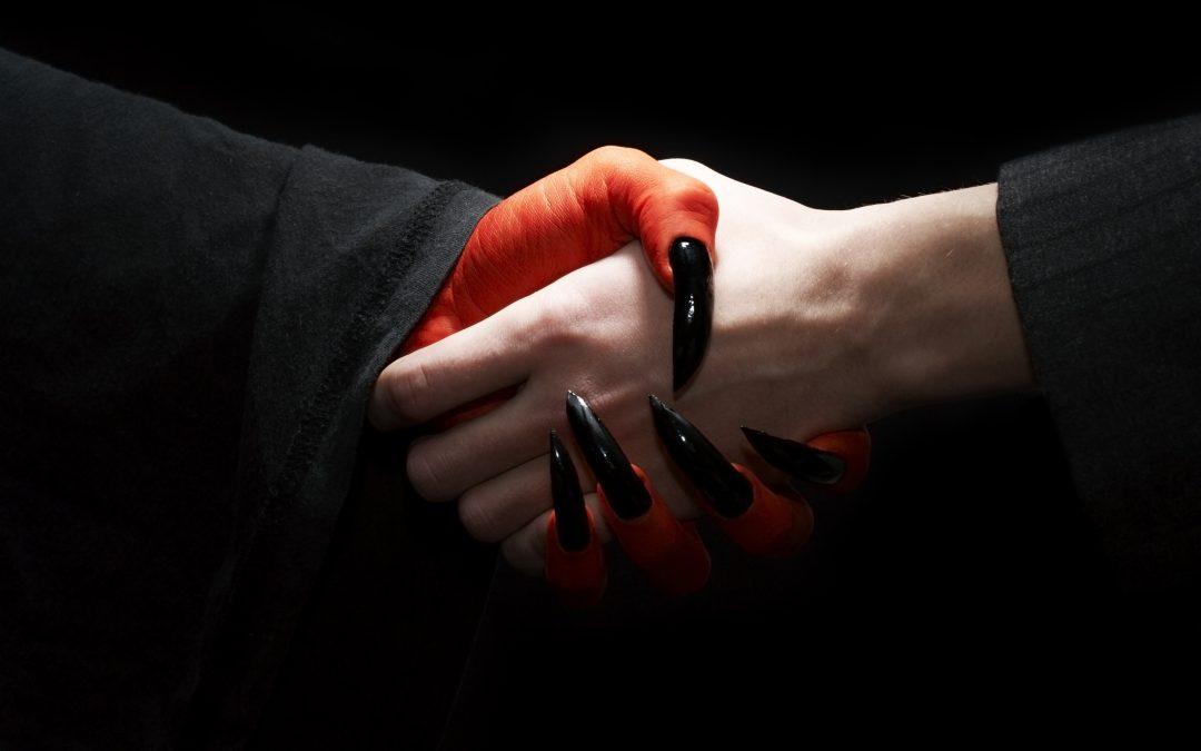 Som att skaka hand med djävulen
