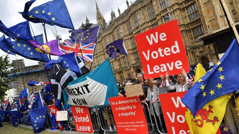 Låt Brexit ske
