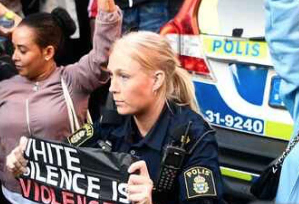 Blott Sverige svensk polis har