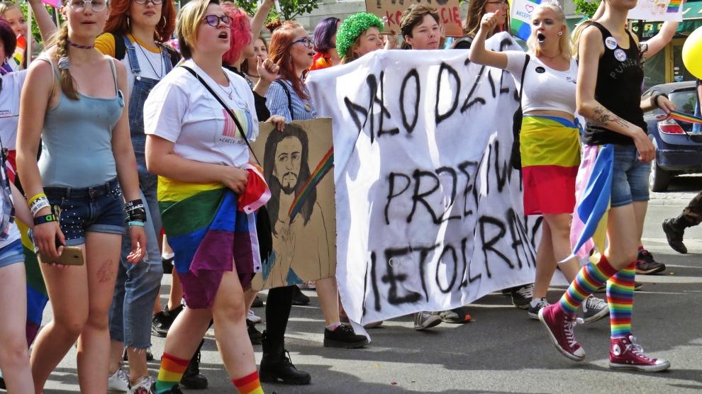 Polen, propagandan och hbtq-ideologin