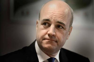 Reinfeldt har roligt