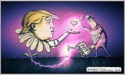 Motståndarna lägger grunden för en ny Trumpseger