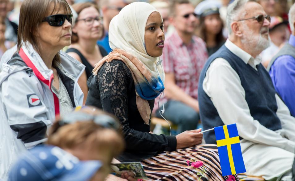 Migranterna och värderingarna