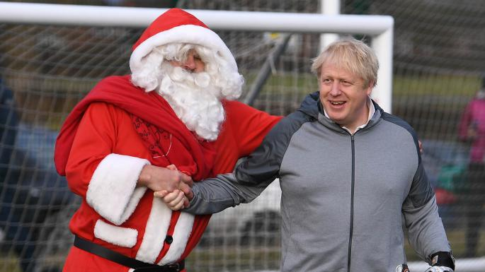 Labours kollaps en tidig julklapp